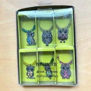 Pier 1 Imports Dining - Wine Charms 6 Piece New in Box